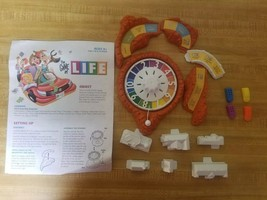 The Game of Life 2007  Replacement Pieces Spinner, Buildings, Cars, Inst... - $6.79