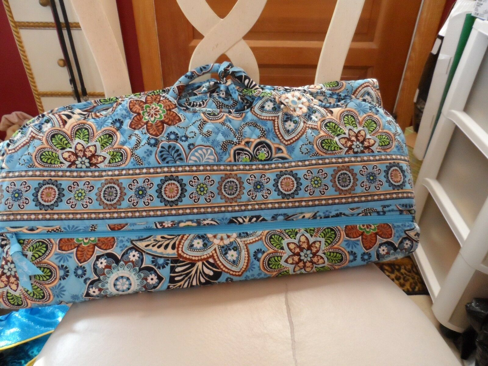 Primary image for Vera Bradley Bali Blue Garment bag