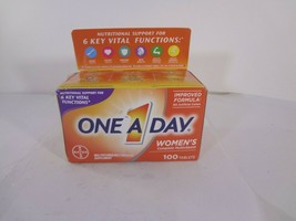 Bayer One A Day Women's Complete Multivitamin - 100 Tablets 23-B  - $11.88