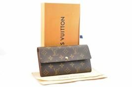 LOUIS VUITTON Monogram Pochette Porte Monnaie Credit Long Wallet M61725 ... - $580.00