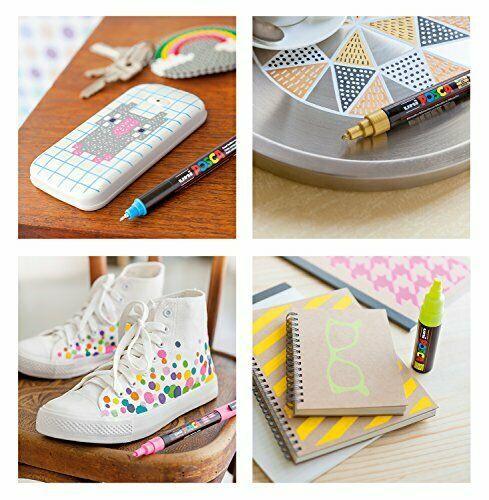 Mitsubishi Pencil Co., Ltd. aqueous pen Posuka bold Sumishin 8 colors PC8K8C