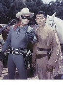 Lone Ranger LRT B Clayton Moore MM Vintage 22X28 Color TV Memorabilia Photo - $37.95