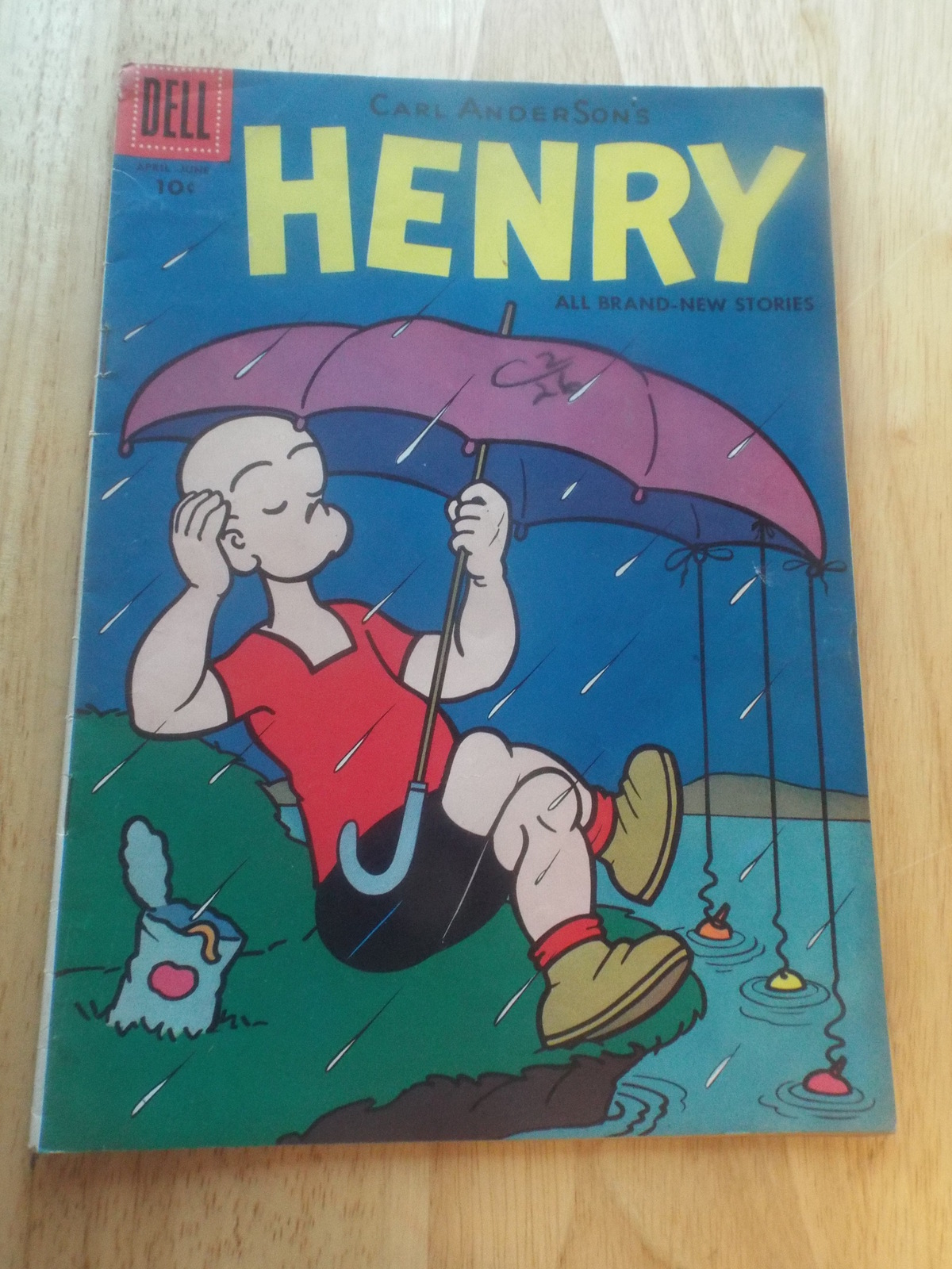 Vintage 1950's Henry #50 Dell Comic Book 1957  - $23.00
