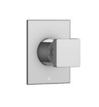Aquabrass S0895PC Square Trim and Handle in Polished Chrome - $54.45
