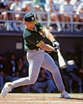 HOME RUN  photo of Mark Mcgwire Oakland A's  (Select Size) - $4.99+