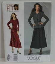 Vogue Sewing Pattern V2911 Misses Blouse and Skirt Sizes 32-55 - $16.44