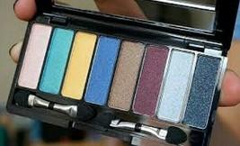 Avon 8 in 1 Eyeshadow Palette the Metallics - $17.82