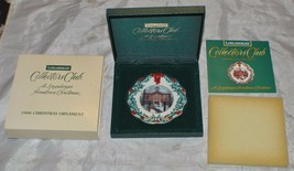 Collectors Club - A Longaberger Hometown Christmas - 1996 Christmas Orna... - $13.09