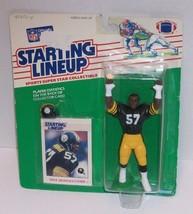 Mike Merriweather   PITTSBURGH STEELERS  1988 Starting Lineup football f... - $41.58