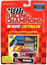 Racing Champions NASCAR 1995 Ed Stock Car Bill Elliott #94 Diecast Toy - $8.90