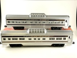 Lionel Postwar Canadian Pacific 2552 Skyline 500 Vista Dome Car Set Of 2 Box - $346.50