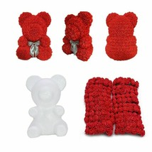 Artificial PE Foam Rose Flower DIY Teddy Bear Roses Handmade Valentine D... - $2.81+