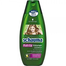 Schwarzkopf Schauma Push-Up Volume Shampoo XL 400ml-Made in Germany - $10.88