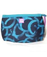 Igloo Insulated Clutch Lunch Bag Blue Black Zippered Closure Canvas 9 x ... - $9.89