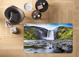 3D Waterfall Sky View 010 Non Slip Rug Mat Quality Elegant Photo Carpet US Carly - $93.49+