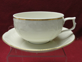 ROSENTHAL China - SANSSOUCI IVORY Pattern w/GOLD Trim - CUP & SAUCER SET - $19.95