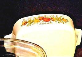 Vintage CorningWare 2 Piece Serving Dish and LidAB 249-C image 6