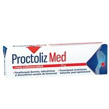 Proctoliz Med Antihemorrhoidal Cream, 25 g, Look Ahead - $20.00