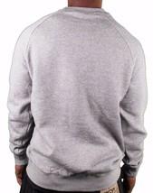Crooks & Castles Tiger Camo Denim Men's Knit Crew Neck Sweatshirt Grey 2XL NWT image 2