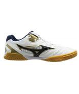 Mizuno WAVE MEDAL SP3 Table Tennis Shoes Unisex White Navy Paddles 81GA151214  - $158.01