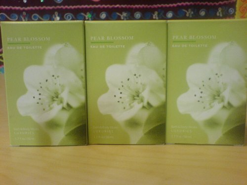 Bath & Body Works Luxuries Pear Blossom Eau de Toilette 1.7 fl oz / 50 ml