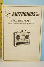 Airtronics Inc SPECTRA PCM 7P Radio Control Instruction Manual - $1.97