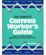 Complete Canvas Worker's Guide to Outfit Your Boat Use Natural-Synthetic... - $23.21