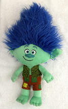"Trolls Green Branch Blue Hair Plush 2016 Dreamworks 17"" - $19.75"