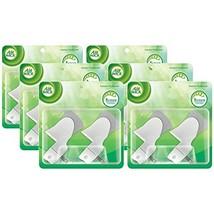 Air Wick Scented Oil Warmer Plugin Air Freshener, Pack of 6 6 X 2ct