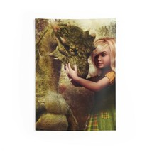 Little Girl & Her Dragon Indoor Wall Tapestries - $22.93+