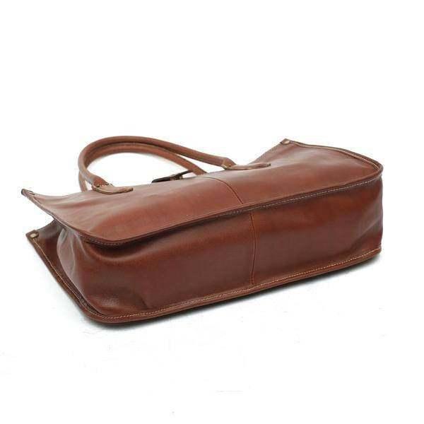 On Sale, Leather Tote Bag for Women, Shoulder Bag, Work & Student Bag, Shopper B image 3