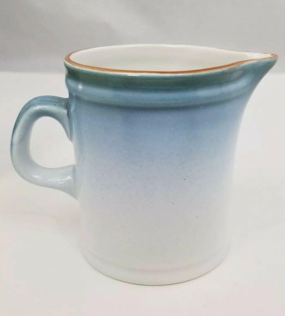 Nikko Gradiance Creamer and Sugar Bowl Azure Leafette Dishwasher Microwave Safe image 6