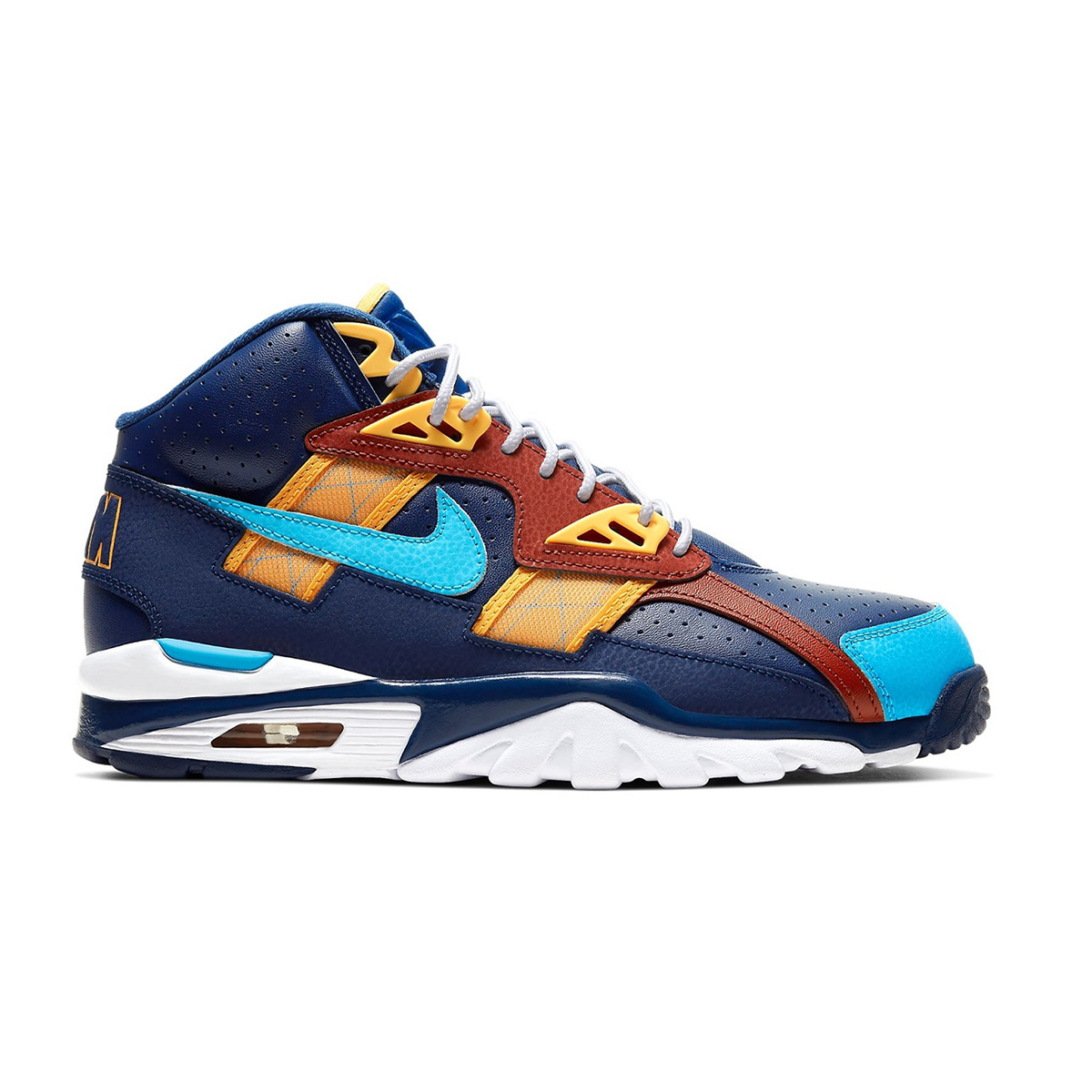 Primary image for Nike Air Trainer SC High (LA Rams/ Blue Void Fury/ Orange) Men US 8-13