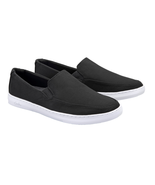 Travis Mathew Cuater Men's Tracers Slip On Shoes Sneakers Low Top Black Gray - $45.50