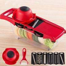 ZS - 8983 Multifunctional Potato Slicer Vegetable Fruit Cutter - $14.42