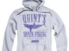 Jaws Movie Retro 70's Quints Shark Fishing Amity Island distressed hoodie UNI413 image 3