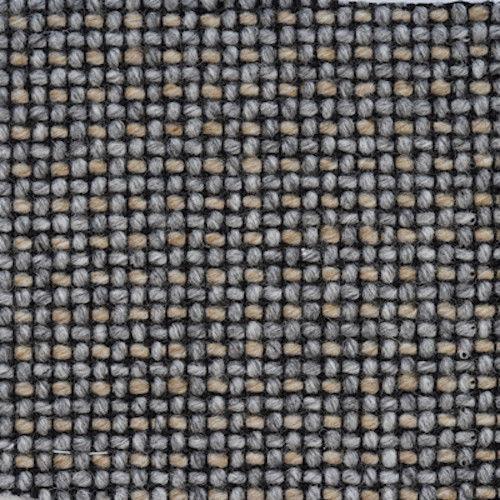 2.375 yds Camira Upholstery Fabric Craggan Chunky Wool Gravel Gray ZAN08 FG