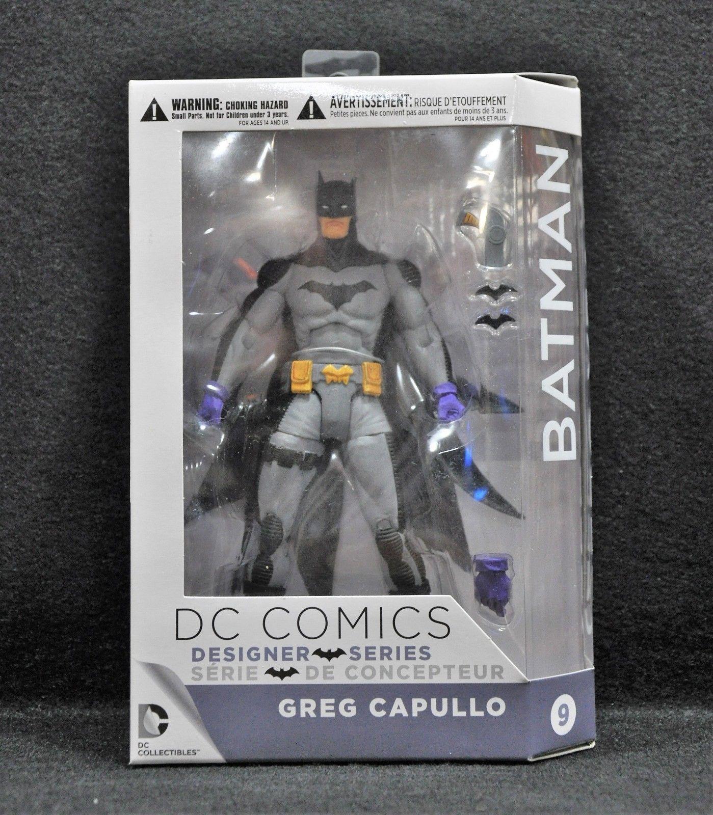 DC Comics Designer Action Figures Series 3: Zero Year Batman by Greg Capullo Act