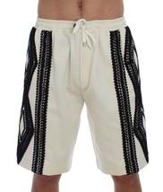 New $700 Dolce & Gabbana Men White Black Torero Above Knees Shorts It48-M - $228.76