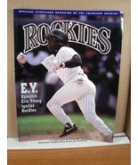 Rockies Scorecard Magazine Vol 1 No 4 July/August 1993 Eric Young - $11.69