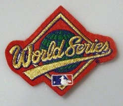 1992 MLB Baseball World Series Diamond Embroidered Patch Braves Blue Jays - 3.25 - $6.99