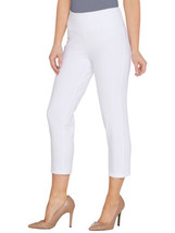 WOMEN WITH CONTROL Size 3XP Straight Leg Crop Pants ALABASTER - $32.64