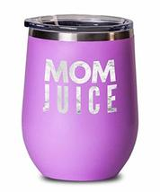 An item in the Pottery & Glass category: Custom Stemless Wine Glasses with Lid Mom Juice Birthday Gift for Mother from So