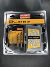 NEW Craftsman 9-64084 Professional Cobalt Drill Bit Set, 13 Piece, With ... - $19.00
