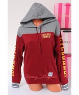 PINK VS Collegiate Collection Iowa State Cyclones Sweat Hoodie Jacket XS... - $44.99
