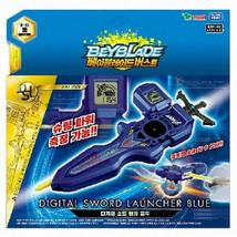Beyblade Burst B-93 Digital Sword Launcher BLUE with Sword Winder Takara Tomy - $34.30