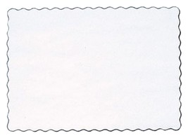 """25 Paper Placemats 10"""" X 14"""" Dinner Size 26 Colors - White - $3.47"""