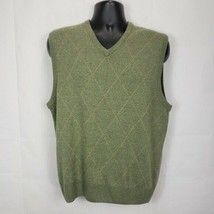 Dockers Argyle Sweater Vest Size Medium - $9.40