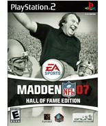 Madden - NFL 07, Hall of Fame Edition, Playstation 2, PS2, (SLUS-21477) ... - $14.99