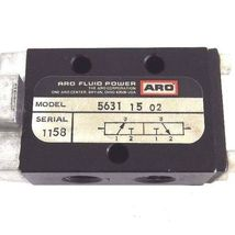 "NEW ARO 5631-15-02 MANUAL CONTROL VALVE 1/4"" NPT, 56311502 image 4"